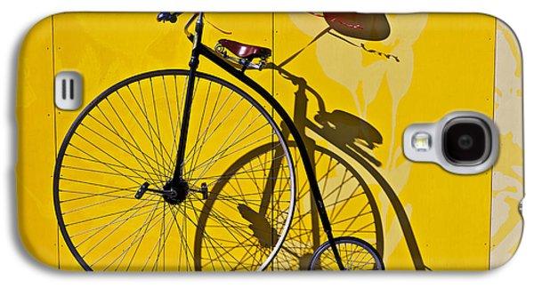 Transportation Galaxy S4 Case - Penny Farthing Love by Garry Gay