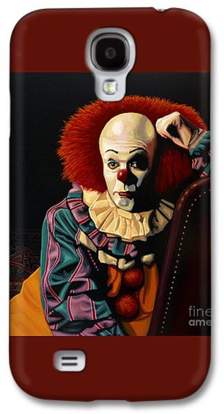 Pennywise Galaxy S4 Case by Paul Meijering
