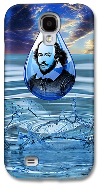 People Changing History William Shakespeare Galaxy S4 Case by Marvin Blaine