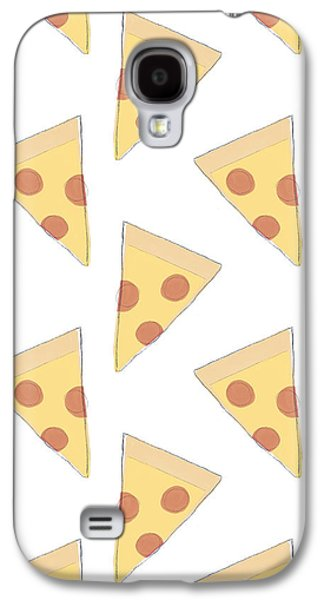 Pepperoni Pizza- Art By Linda Woods Galaxy S4 Case