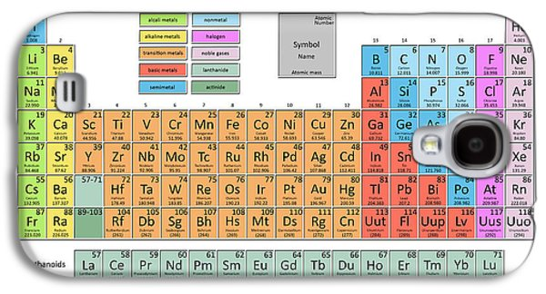 Periodic Table Of The Elements 5 Galaxy S4 Case