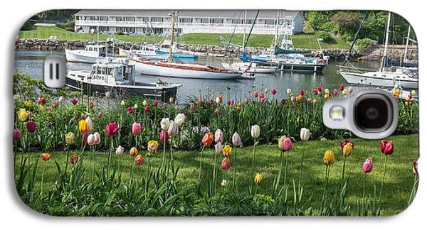 Perkins Cove Tulips Galaxy S4 Case by Joseph Smith