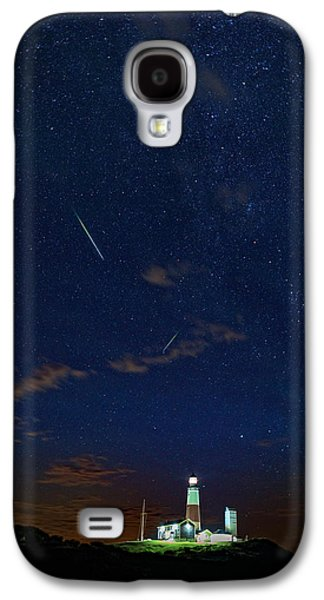 Perseids Over Montauk Point Galaxy S4 Case by Rick Berk