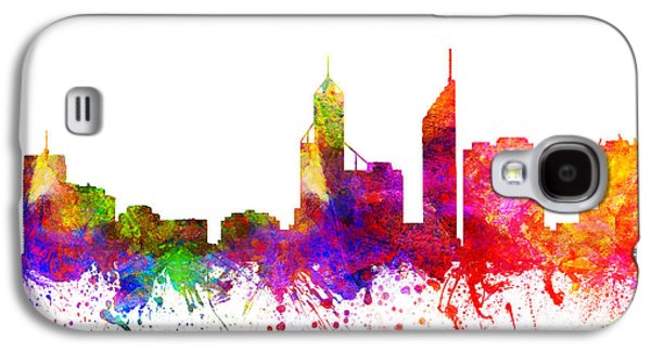 Perth Australia Cityscape 02 Galaxy S4 Case by Aged Pixel