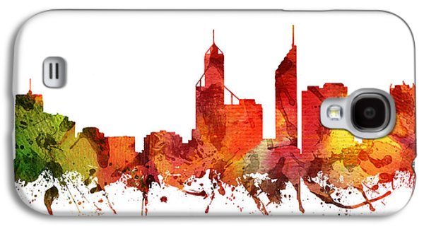Perth Cityscape 04 Galaxy S4 Case by Aged Pixel