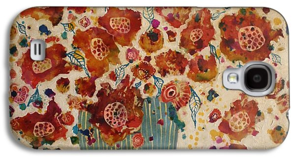 Petals And Leaves No. 4 Galaxy S4 Case by Jane Spakowsky