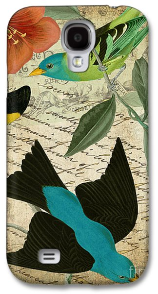 Petals And Wings V Galaxy S4 Case by Mindy Sommers