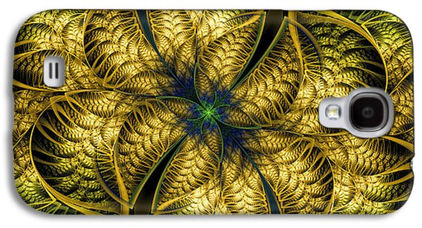 Petals Of Life Galaxy S4 Case by Deborah Benoit