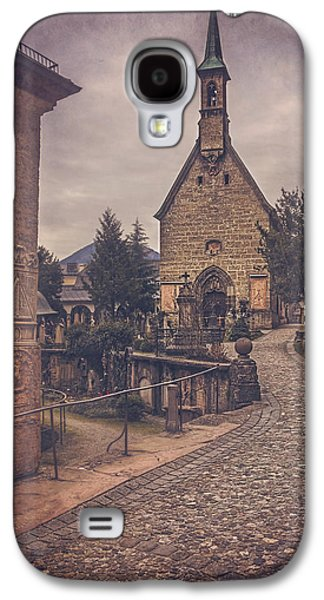 Petersfriedhof Salzburg  Galaxy S4 Case by Carol Japp