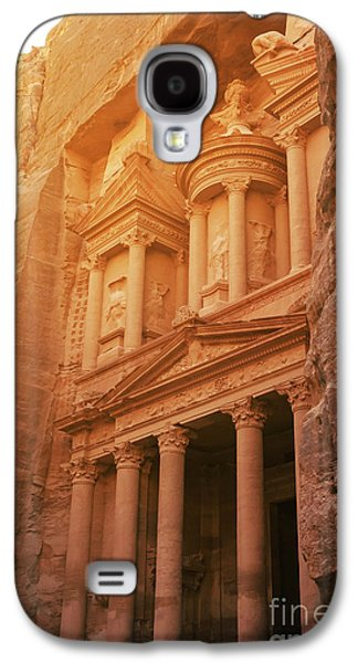 Petra Treasury, Jordan Galaxy S4 Case by Jelena Jovanovic