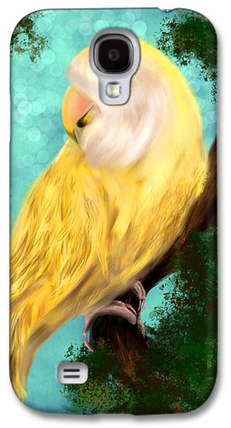 Petrie The Lovebird Galaxy S4 Case
