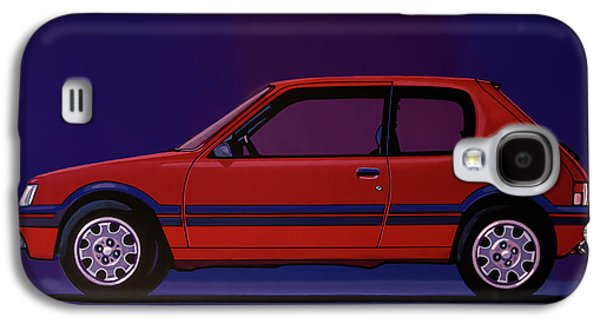 Peugeot 205 Gti 1984 Painting Galaxy S4 Case