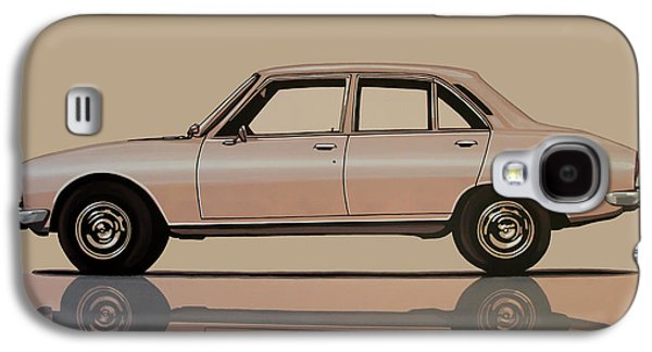 Peugeot 504 1968 Painting Galaxy S4 Case