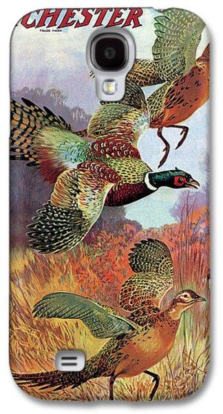 Pheasant Galaxy S4 Case - Pheasants On The Rise by Lynn Bogue Hunt