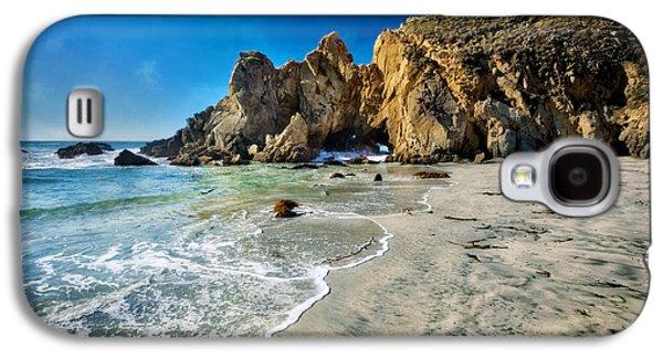 Pheiffer Beach #5 - Big Sur California Galaxy S4 Case