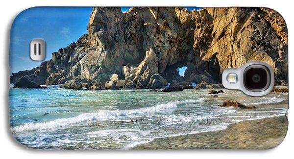 Pheiffer Beach #6 - Big Sur California Galaxy S4 Case