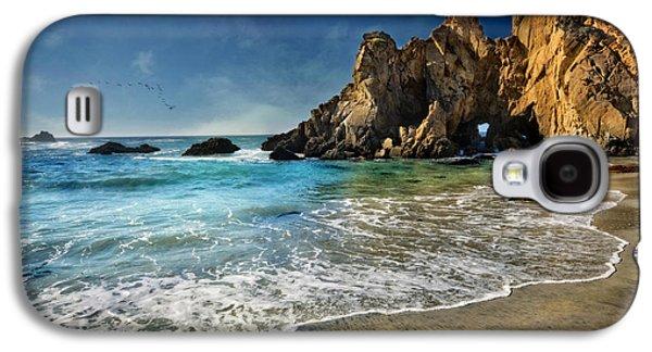 Pheiffer Beach #9- Big Sur California Galaxy S4 Case