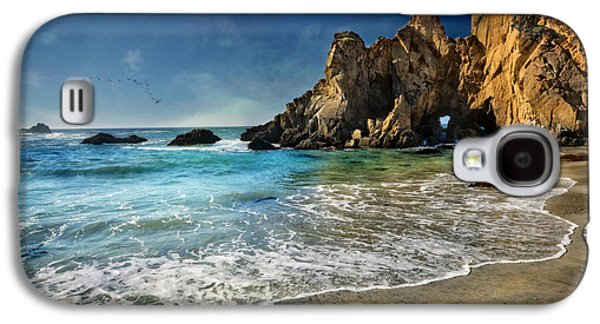 Pheiffer Beach #9- Big Sur California Galaxy S4 Case by Jennifer Rondinelli Reilly - Fine Art Photography