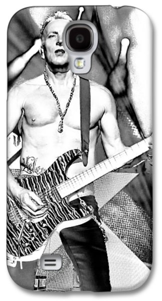 Phil Collen With Def Leppard Galaxy S4 Case by David Patterson