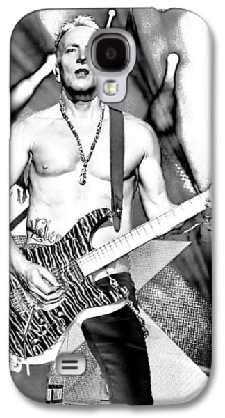 Phil Collen With Def Leppard Galaxy S4 Case