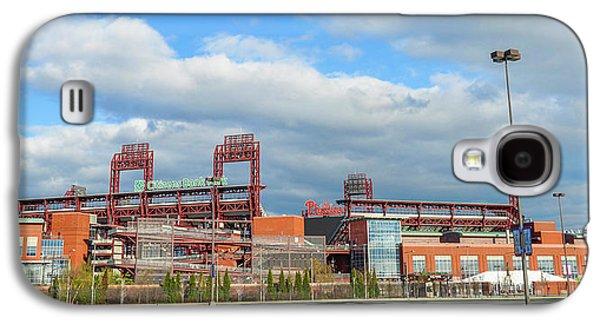 Philadelphia Baseball - Citizens Bank Park Galaxy S4 Case by Bill Cannon