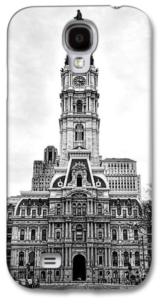 Philadelphia City Hall Building On Broad Street Galaxy S4 Case by Olivier Le Queinec