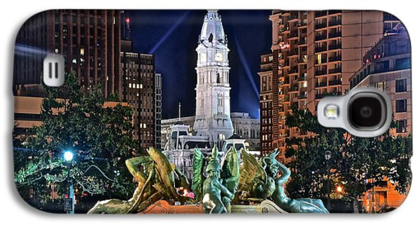 Philadelphia City Hall Galaxy S4 Case by Frozen in Time Fine Art Photography