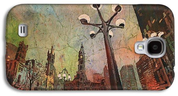 Philadelphia Downtown Sunrise Galaxy S4 Case by Ryan Fox