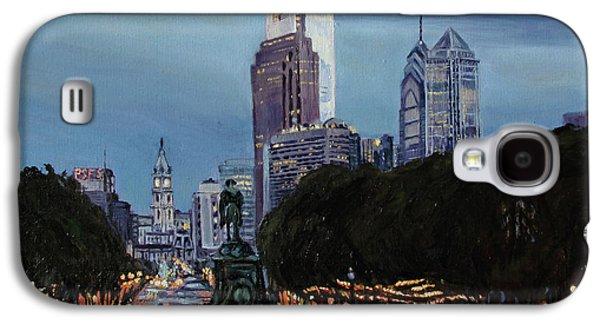 Philadelphia Nightfall Galaxy S4 Case by Christopher Buoscio