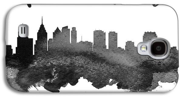 Philadelphia Pennsylvania Skyline 18 Galaxy S4 Case by Aged Pixel