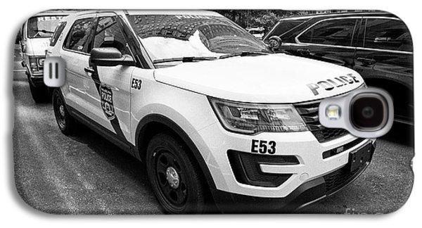 Philadelphia Police Ford Interceptor Utility Patrol Car Vehicle Usa Galaxy S4 Case