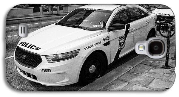Philadelphia Police Narcotics Strike Force Police Cruiser Vehicle Usa Galaxy S4 Case