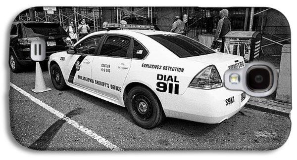 Philadelphia Sheriffs Office Chevy Impala Police Cruiser K-9 Unit Explosives Detection Vehicle Usa Galaxy S4 Case