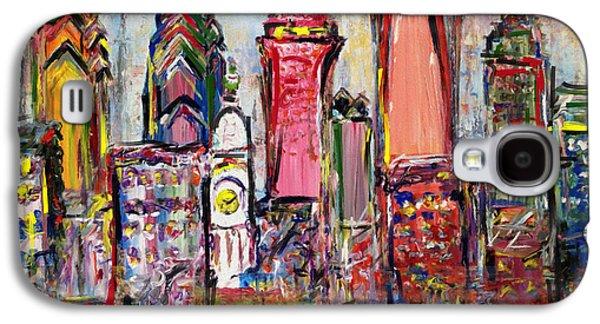 Philadelphia Skyline 232 1 Galaxy S4 Case by Mawra Tahreem
