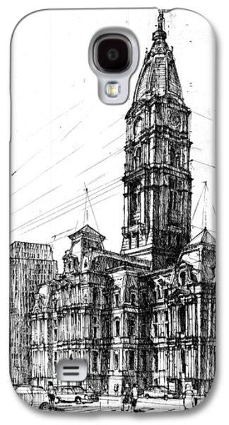 Philadelphia Town Hall Galaxy S4 Case by Krystian  Wozniak