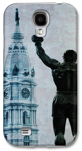 Philadelphias Champion - Rocky Balboa Galaxy S4 Case by Bill Cannon