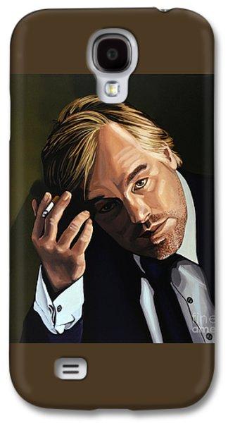 Philip Seymour Hoffman Galaxy S4 Case by Paul Meijering
