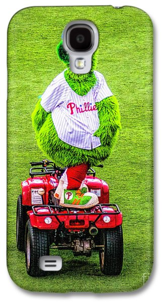 Phillie Phanatic Scooter Galaxy S4 Case by Nick Zelinsky