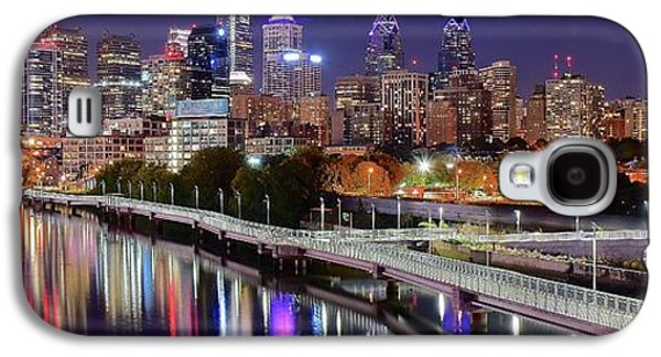 Philly In Panoramic View Galaxy S4 Case
