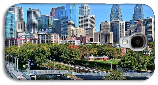 Philly With Walking Trail Galaxy S4 Case