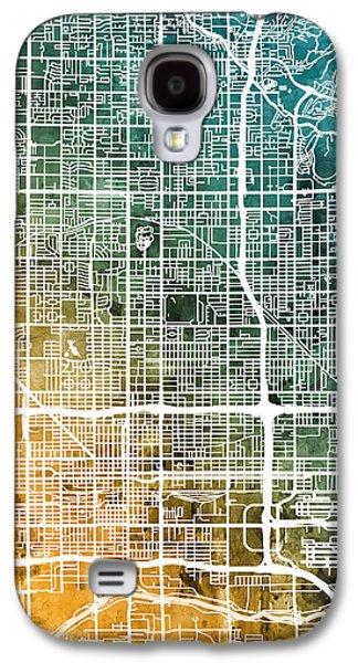 Phoenix Arizona City Map Galaxy S4 Case