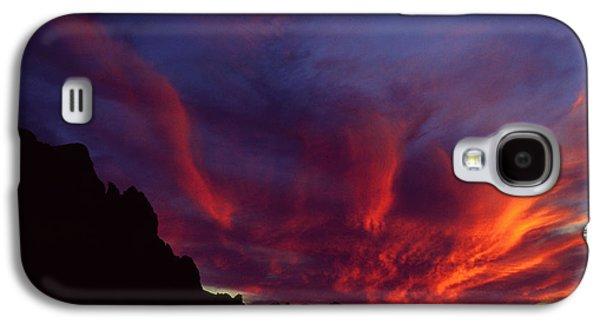 Phoenix Risen Galaxy S4 Case by Randy Oberg