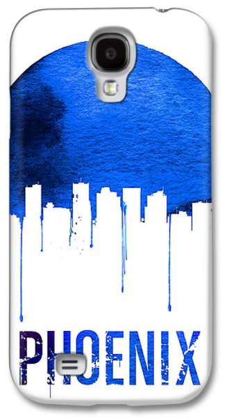 Phoenix Skyline Blue Galaxy S4 Case