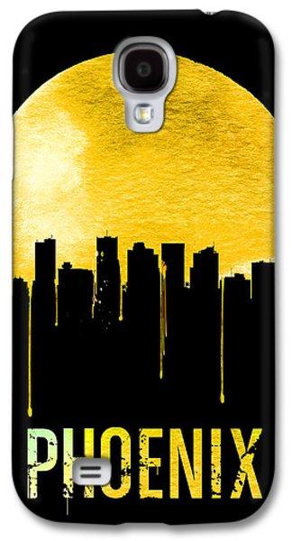 Phoenix Skyline Yellow Galaxy S4 Case by Naxart Studio