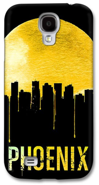 Phoenix Skyline Yellow Galaxy S4 Case