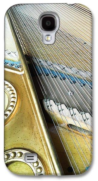 Piano Strings Galaxy S4 Case by Tom Gowanlock
