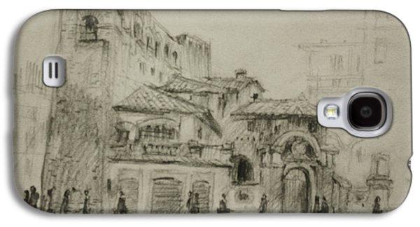 Piazza Fiume Rome Galaxy S4 Case