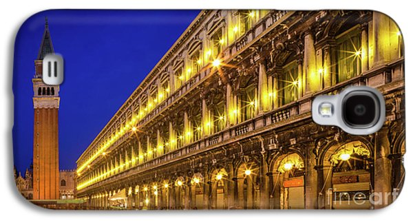 Piazza San Marco By Night Galaxy S4 Case