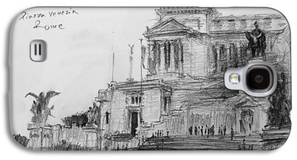 Piazza Venezia Rome Galaxy S4 Case by Ylli Haruni