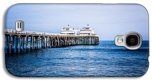 Picture Of Malibu Pier In Southern California Galaxy S4 Case by Paul Velgos